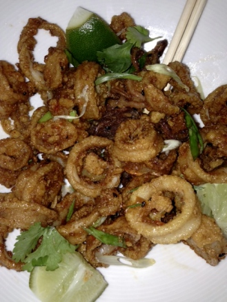 Bond Restaurant Calamari